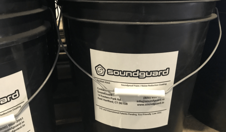 soundguard soundproofing paint