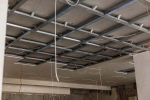 drop ceiling installation commercial office